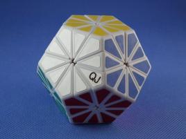 QJ Megaminx Crystal Biała