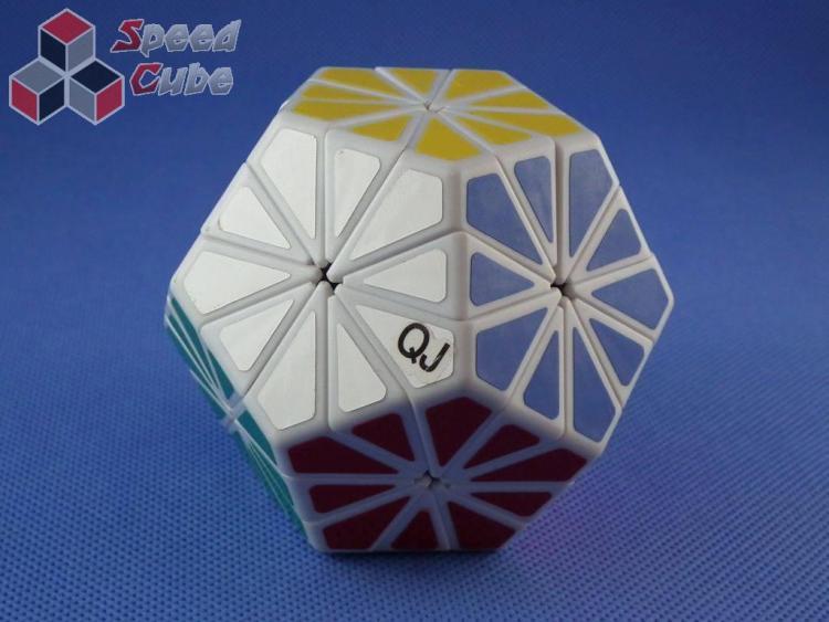 QJ Pyraminx Crystal Biała