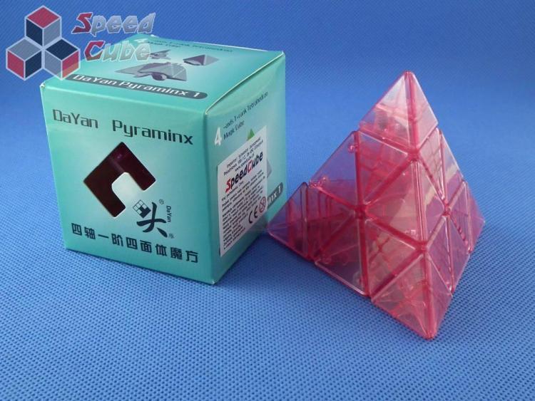DaYan Pyraminx PiNK Transparentna