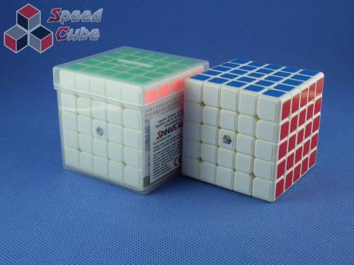 ZhiSheng YuXin 5x5x5 Unicorn King Biała