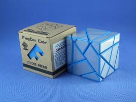 FangCun Ghost Cube Blue Body Silver Stickers