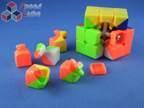 ZhiSheng YuXin 3x3x3 YuXin Fire Kolorowa