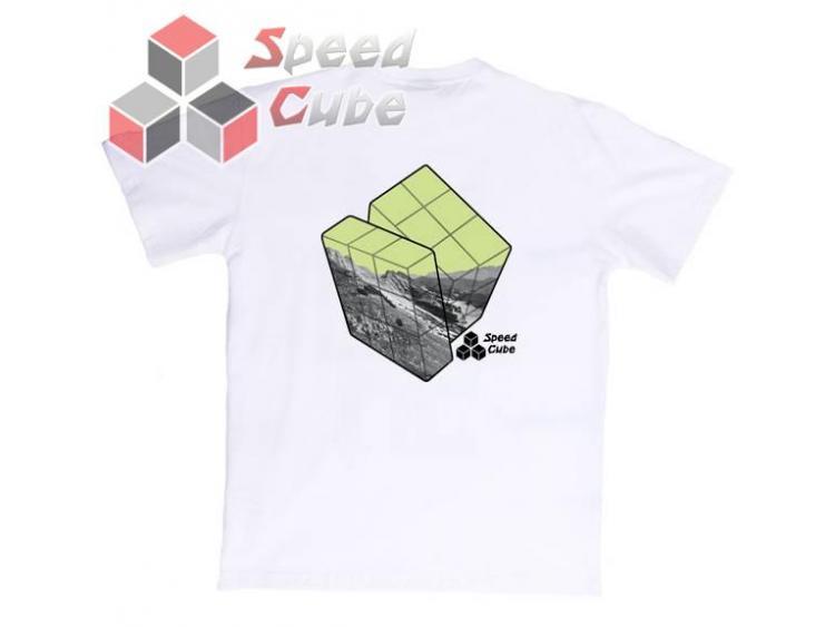 Koszulka T-Shirt z nadrukiem Biała 3x3 LEMON M