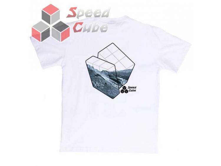 Koszulka T-Shirt z nadrukiem Biała 3x3 BLUE M