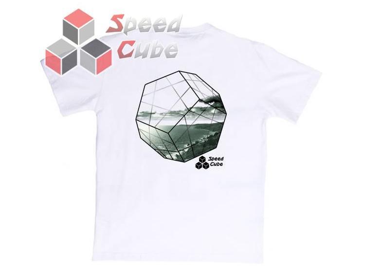 Koszulka T-Shirt z nadrukiem Biała MINX Gray M