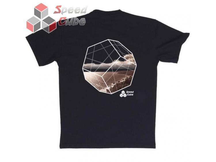Koszulka T-Shirt z nadrukiem Czarna MINX BROWN L
