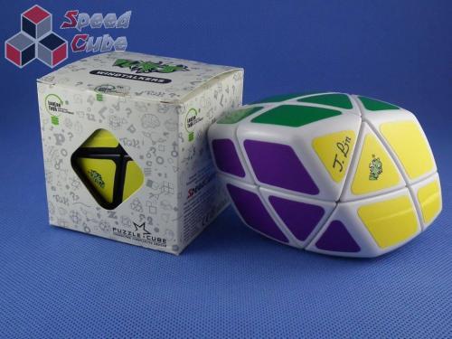 LanLan Skewb Curvy Rhombohedron Biała
