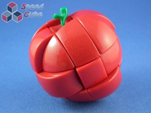 YJ 3x3x3 Apple Cube Czerwone