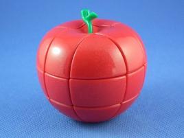 YongJun 3x3x3 Apple Cube Czerwone