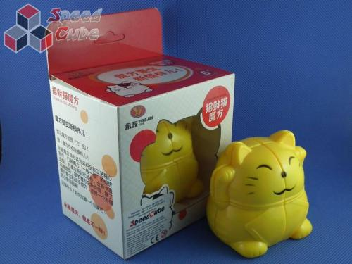 YJ Lucky Cat 2x2x2 Cube Żółty