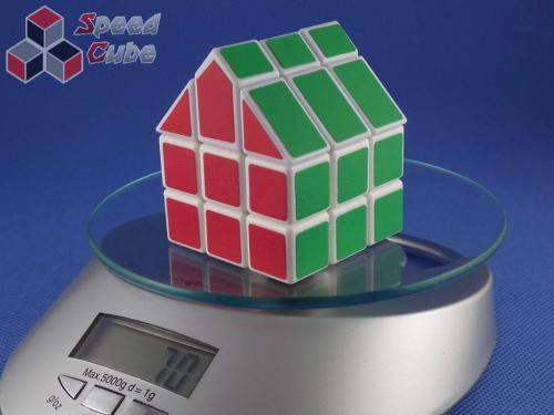 Cube Twist 3x3x3 Bermuda House I Biała
