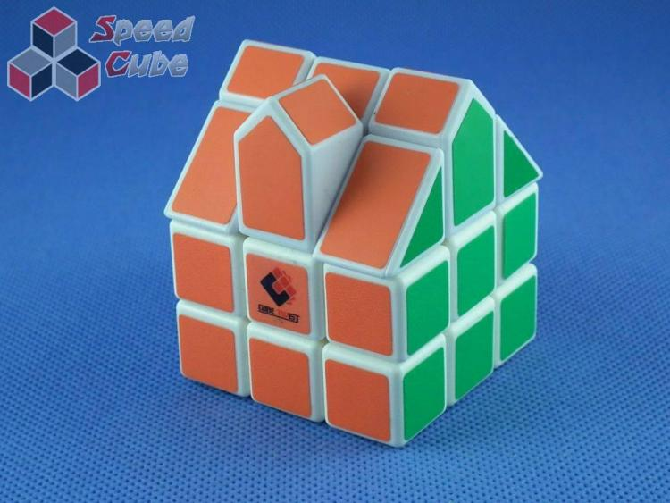 Cube Twist 3x3x3 Bermuda House II Biała