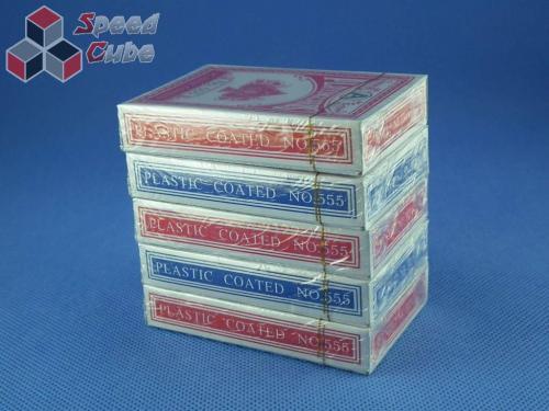 Karty do gry Talia 54 szt. Papierowe 555