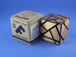 FangCun Ghost Cube Black Body Gold Stickers