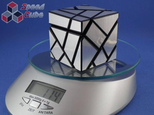 FangCun Ghost Cube Black Body Silver Stickers
