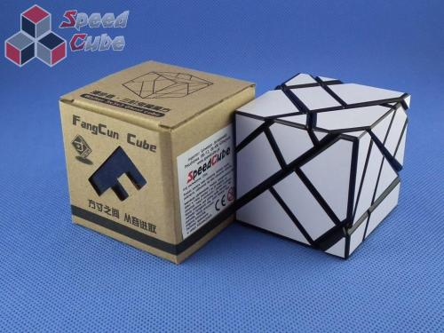 FangCun Ghost Cube Black Body White Stickers