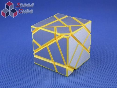 FangCun Ghost Cube Yellow Body Silver Stickers