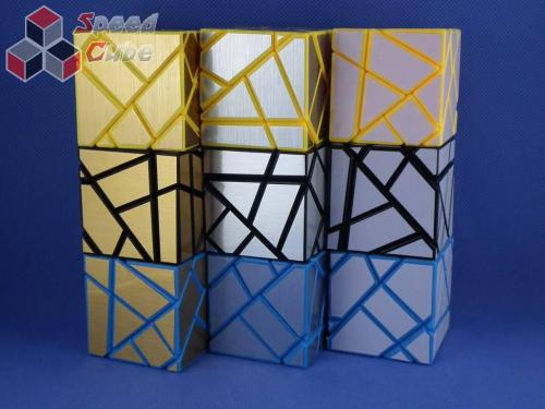 FangCun Ghost Cube Blue Body White Stickers