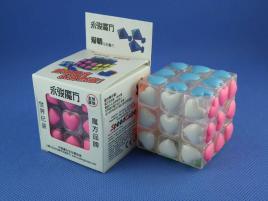 YongJun Love Heart 3x3x3 Transp. White