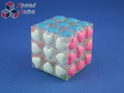 MoYu YJ Love Heart 3x3x3 Transp. White