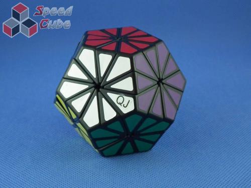 QJ Pyraminx Crystal Czarna