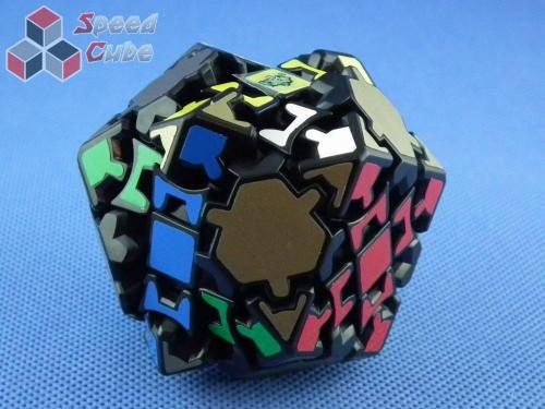 LanLan Gear Tetrakaidecahedron Czarny