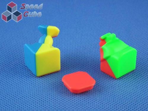 MoYu HuaLong 3x3x3 Kolorowa Light Red