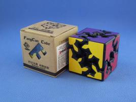 Fangcun Gear Cube Shift 2x2x2 Czarna