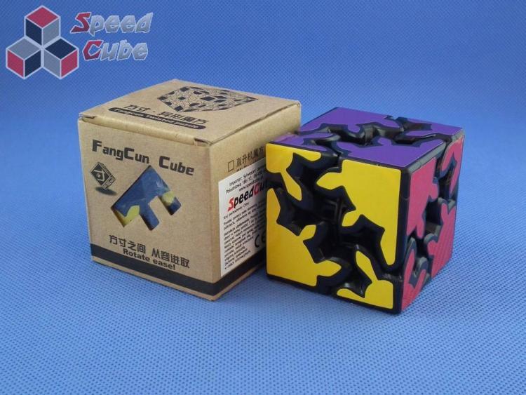 Fangcun Gear Cube Shift 2x2x2 Czarna