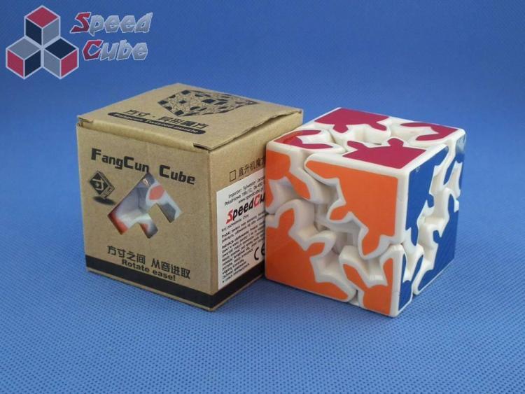 Fangcun Gear Cube Shift 2x2x2 Biała