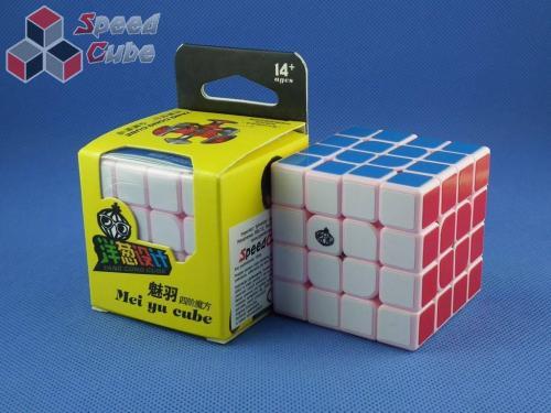 MoYu Cong's Design MeiYu 4x4x4 Różowa