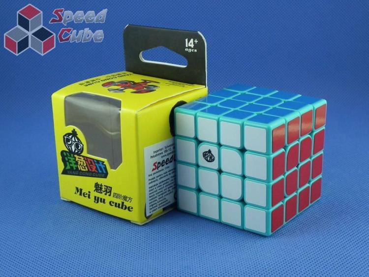 MoYu Cong's Design MeiYu 4x4x4 Cyan