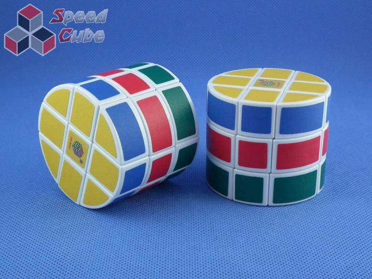 HeShu 3x3x3 Cylinder Biała