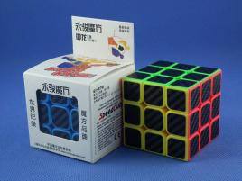 YongJun Yulong 3x3x3 kolorowa Carbon Stickers