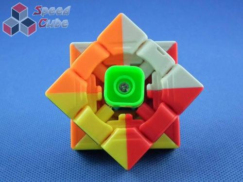 YJ MoYu Yulong 3x3x3 kolorowa Carbon Stickers