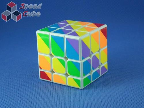 MoYu YJ Unequal / Inequilateral 3x3x3 White