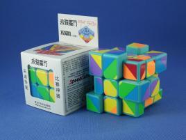 YongJun Unequal / Inequilateral 3x3x3 Cyan