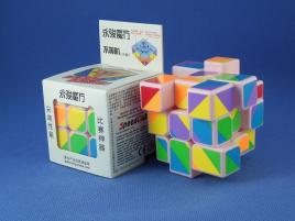 YongJun Unequal / Inequilateral 3x3x3 PiNK