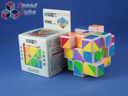 MoYu YJ Unequal / Inequilateral 3x3x3 PiNK