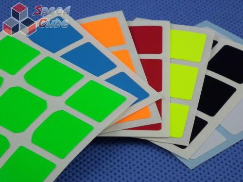 Naklejki 3x3x3 Halczuk Stickers TangLong Fluo
