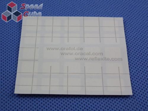 Naklejki 3x3x3 Halczuk Stickers MeiYing Fluo
