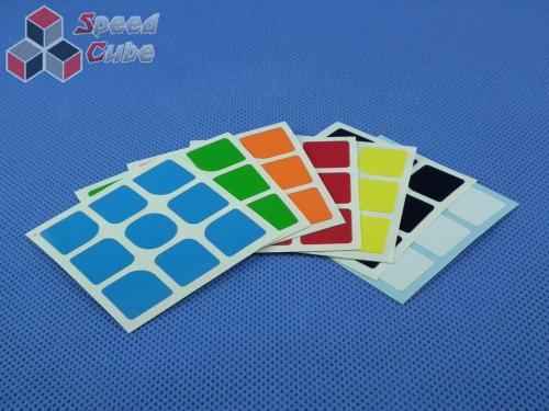 Naklejki 3x3x3 Halczuk Stickers DianMa Half Bright