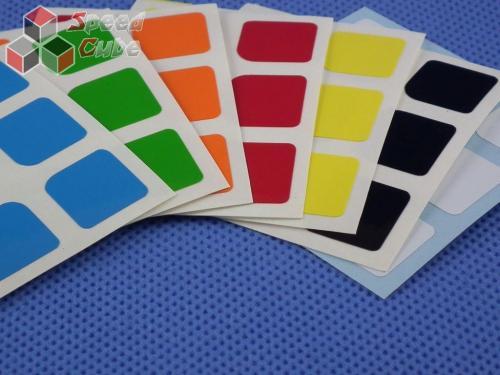 Naklejki 3x3x3 Halczuk Stickers Thunder Clap Half Bright