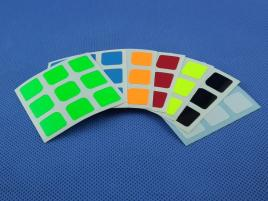 Naklejki 3x3x3 Halczuk Stickers Thunder Clap Fluo