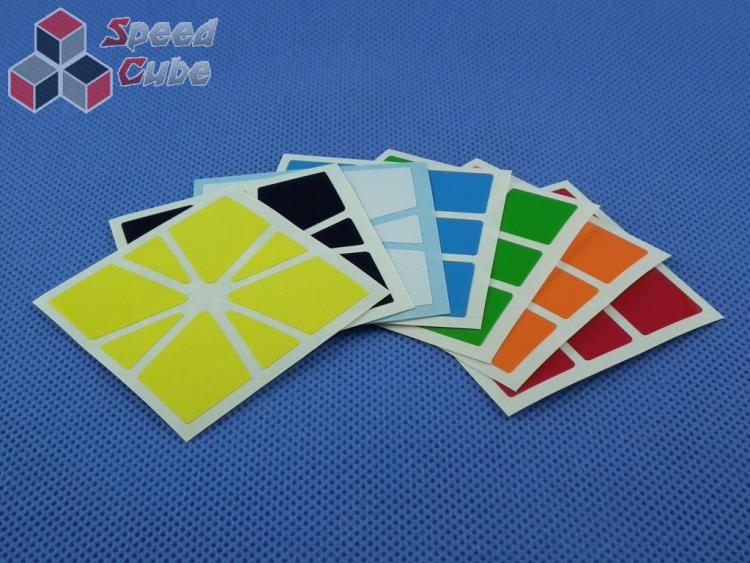 Naklejki Square-1 SQ-1 Halczuk Stickers QiYi Half Bright