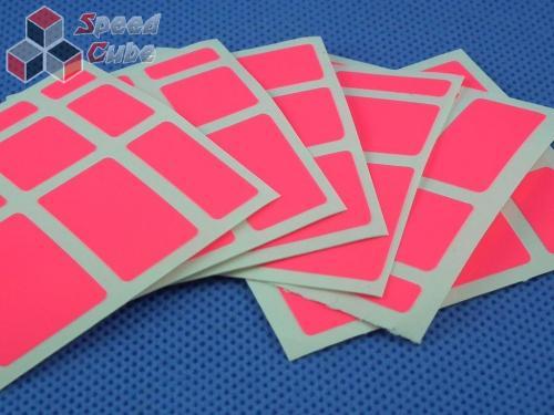 Naklejki Mirror Halczuk Stickers Fluo PiNK