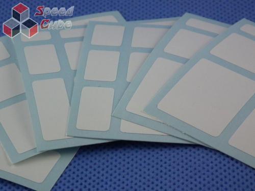 Naklejki Mirror Halczuk Stickers Fluo White