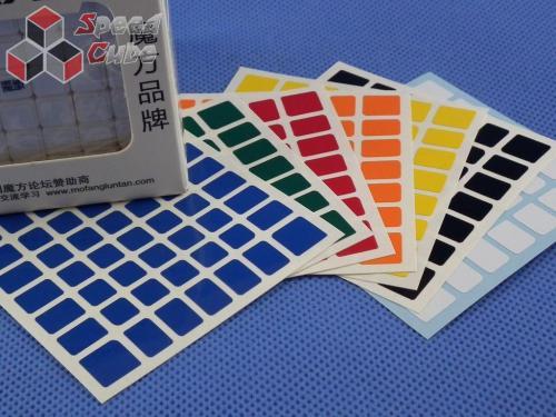 Naklejki 7x7x7 Halczuk Stickers AoFu GT Normal