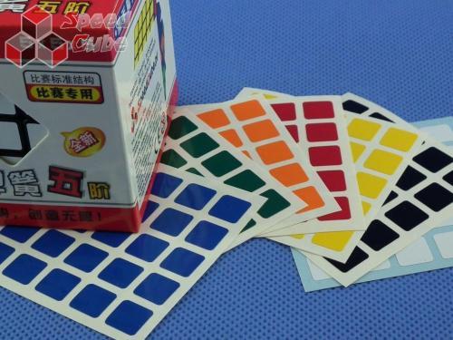 Naklejki 5x5x5 Halczuk Stickers Normal