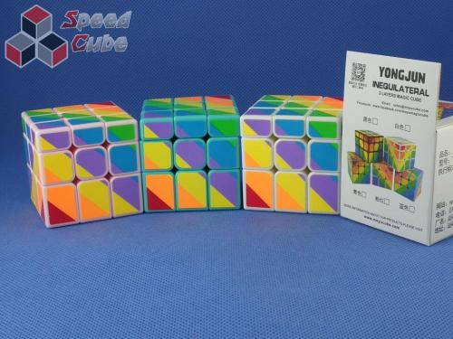 MoYu YJ Unequal / Inequilateral 3x3x3 Black